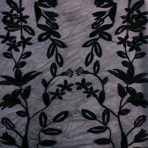 Mesh-Bordado-Flores-Negras