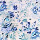 Lino-Viscosa-Flores-Azules