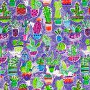 Modelo-Provenzal-Estampado-Cactus-Fondo-Violeta