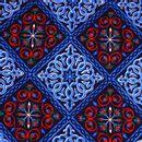 Modelo-Provenzal-Estampado-Flor-de-Lis-Azul